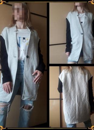 Длинное пальто блейзер пиджак от mango❤😎