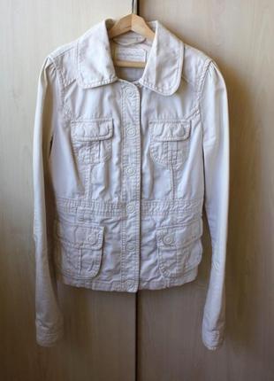 Джинсовая куртка aeropostale цвета слоновой кости (айвори) на маленький рост (petite)