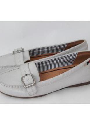 Туфли кожаные tamaris р. 37--24. 3 см. германия