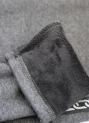 Очень плотные, теплые лосины на меху. качество отличное2 фото