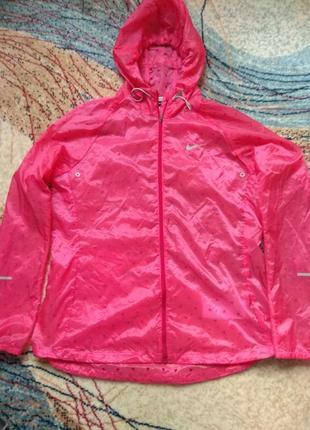 Куртка,ветровка для бега nike р.46-48