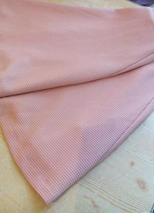 Персиковая юбка солнце