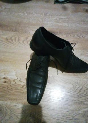 Туфли,кожа.