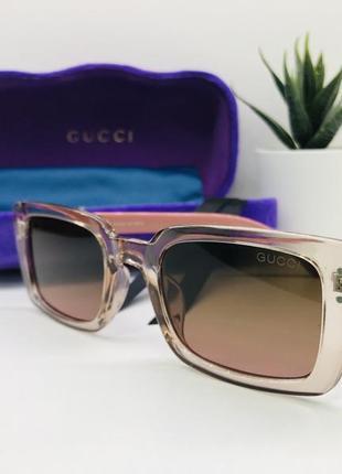 Женские солнцезащитные очки gucci  11023