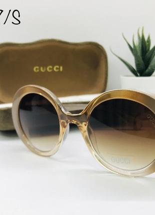 Женские солнцезащитные очки gucci gg0367/s