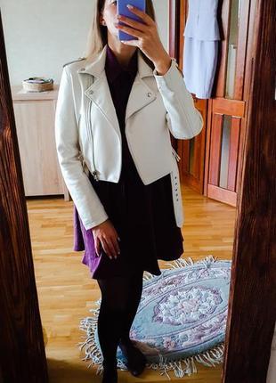Куртка-косуха белая