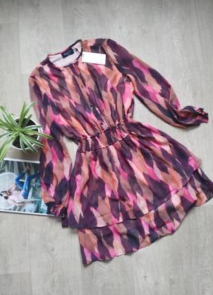 Платье с принтом mohito