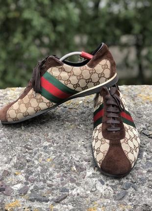 Туфли gucci monogram