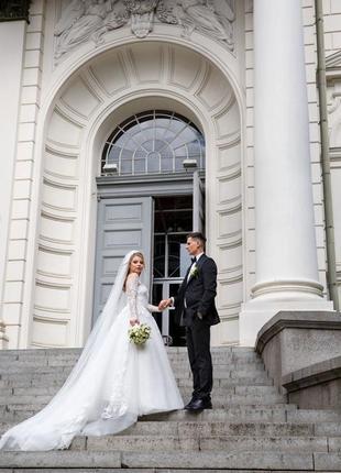Роскошное свадебное платье pollardi /wedding dress