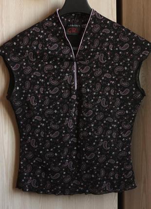Шикарная стильная блузка, размер s