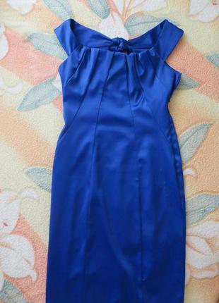 Вечернее платье очень красивого цвета