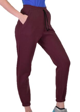 Штаны на флисе, брюки на флисе, теплые спортивные штаны, теплые брюки р-р 42-50