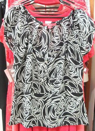 Блуза из натурального шелка.38-40р .
