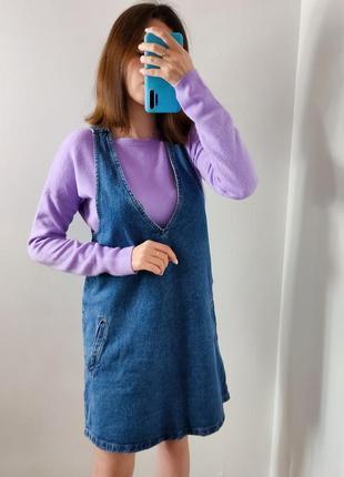 Женский джинсовый сарафан платье жіночий сарафан
