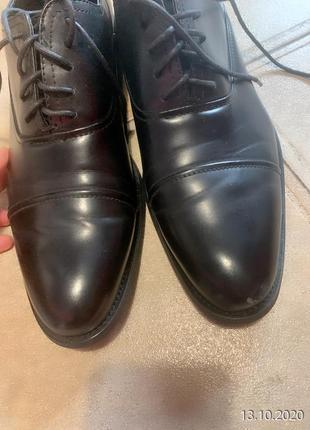 Фирменные мужские туфли arber