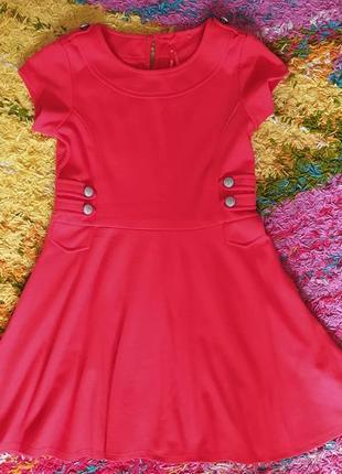 Трикотажное платье, нарядное, next
