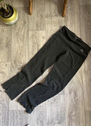 Флисовые штаны calvin klein размер s серые