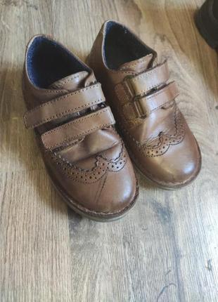 Кожаные ботинки для мальчика rjr.johnrocha