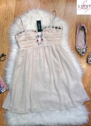 Новое невероятно красивое коктейльное платье от бренда lipsy london