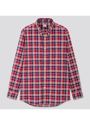 Мужская хлопковая рубашка • uniqlo