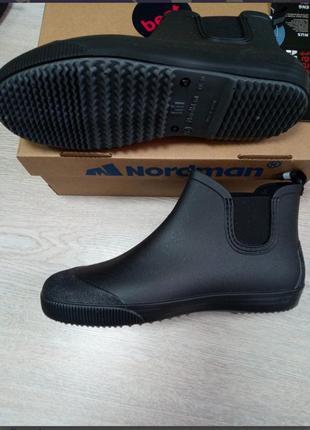 Мужские резиновые ботинки сапоги нордмен пс 30