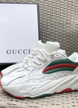9923 gucci кроссовки гучи мужские