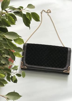Стильная сумочка клатч на цепочке new look