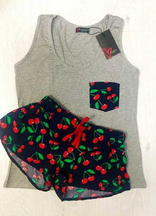 Комплект майка и шорты для дома
