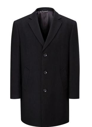 Стильное шерстяное пальто премиум класса