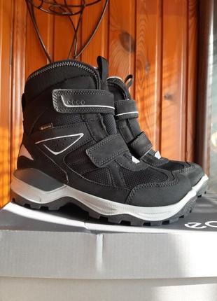 Зимние ботинки сапоги ecco snow mountain 31 размер