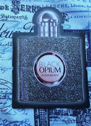 Пробник парфюмированной воды black opium nuit blanche, yves saint laurent ,0,5 ml, франция