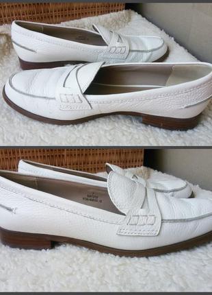Мегакомфортные  качественные кожаные туфли лоферы autograph m&s с технологией insolia flex