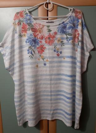 Обалденно красивая футболка большой размер 22-24