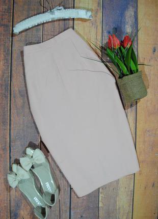 +1200 вещей в наличии! персиковая юбка-карандаш etam размер uk10 (s)