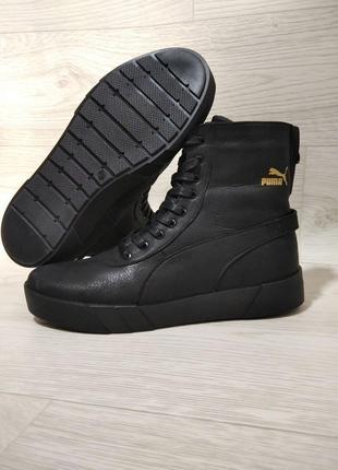 Ботинки зимние кроссовки puma