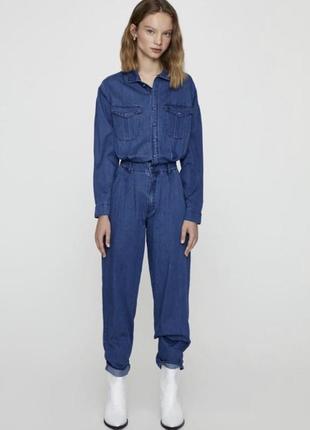 Комбинезон джинсовый шикарный