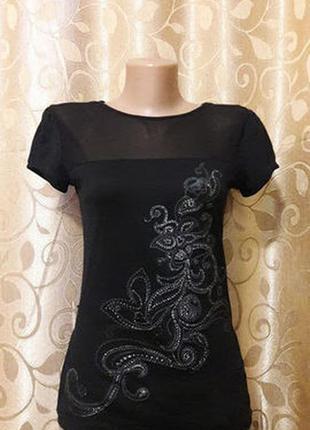 Красивая женская футболка morgan