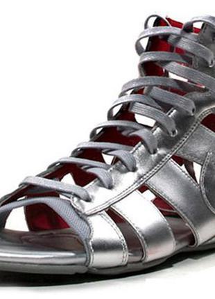 Кожаные сандали nike high top gladiator. оригиналы!