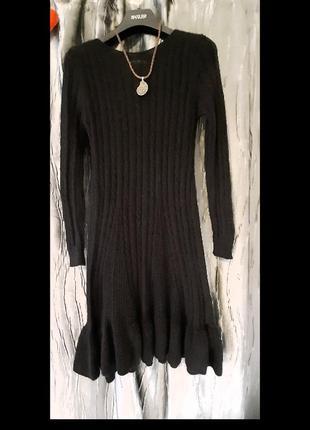 🎄🎄🎄теплющее платье шерстяное