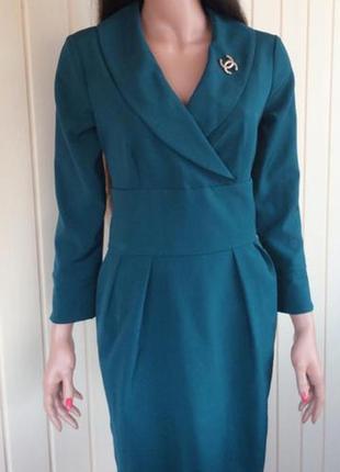 Новое летнее короткое офисное платье