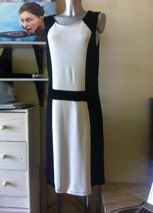 Монохромное простое  миди платье вискоза 14-16-18  от yessica
