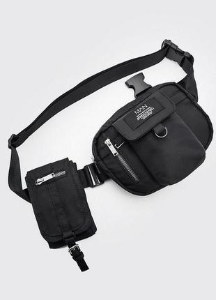 Двойная нагрудная мужская сумка man