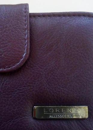 Кожаный кошелек lorenz accessories