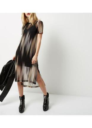 Стильное платье с принтом от river island