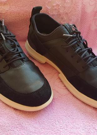 Новые кроссовки geox. ecco.