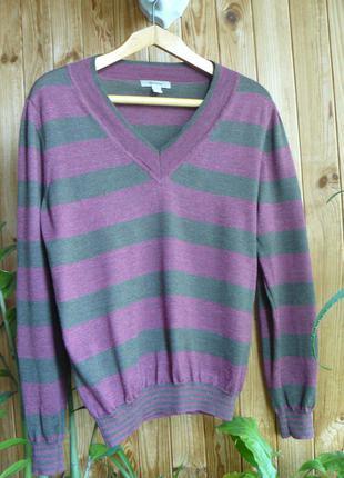 Легкий свитерок французкой марки faconnable, m