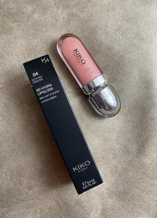 Блеск для губ 3d hydra lipgloss kiko milano