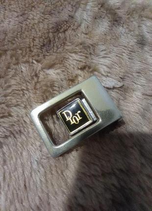 Dior пряжка бляха от ремня