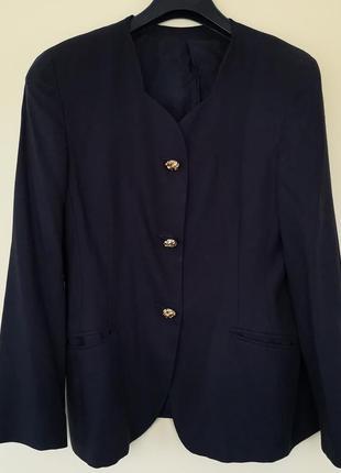 Винтажный жакет пиджак