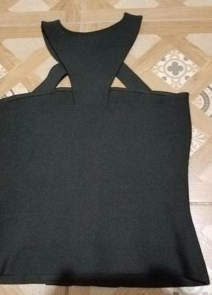 Женский топ  стильный черный  lily allen